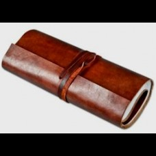 Leather Journal Roll Style