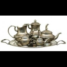 Pewter Serving Set with Tray  26% off MSRP