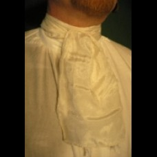 Cravat Silk White