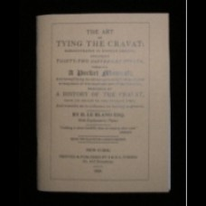 Cravat booklet The Art of Tying