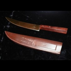 Cross L Scalper Knife with Sheath