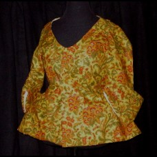 Ladies' Jacket 1750s style Reversible