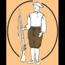Breeches French Fly 1690-1760s TG Pattern