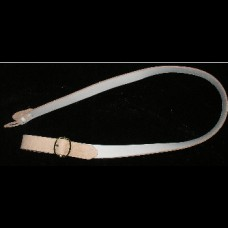 Musket Sling Non-adjustable White