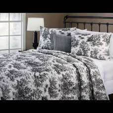 Bed Spread Jamestown Toile